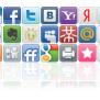 Социальные кнопки для вашего сайта.