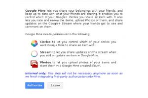 Новый социальный инструмент Google Mine