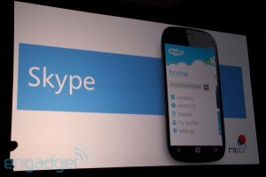 Windows Phone 7 остался без Skype?