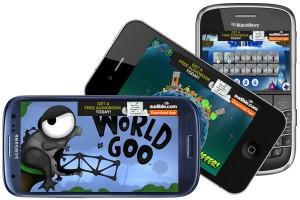 Реклама приложений на мобильных